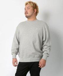 MARUKAWA/【Champion】チャンピオン 大きいサイズ 無地 ワンポイント 裏毛 トレーナー/502545366