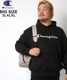 MARUKAWA/【Champion】チャンピオン 大きいサイズ ロゴ 裏毛 パーカー/502545369