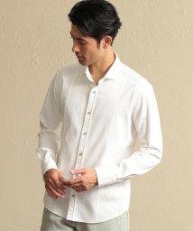 EPOCA UOMO/ホリゾンタルカラーストレッチドビーシャツ/502550050