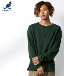 MARUKAWA/【KANGOL】カンゴール ビッグシルエット ミニロゴ刺繍 長袖Tシャツ/502570770