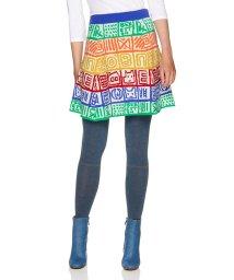 BENETTON (women)/マルチカラーモチーフニットスカート/502578439