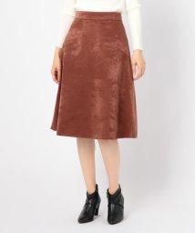 NOLLEY'S/サテンボンディングリバーシブルスカート/502592120
