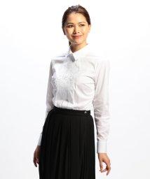 NARA CAMICIE/サンマルコ刺繍長袖シャツ/502610080