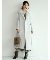 Mystrada/【MAGASEEK/d fashion限定カラー】バックボリュームコート/502611901