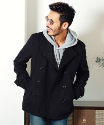 JIGGYS SHOP/メルトンPコート / ピーコート Pコート メンズ ジャケット ショート 丈 コート/502612046