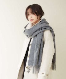 qualite/カシミヤ大判ベーシックストール/502613008