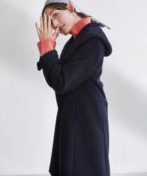 NIJYUSANKU/【マガジン掲載】ウールアンゴラビーバー フーデッド コート(検索番号K42)/502613603