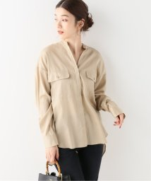 NOBLE/スタンドカラーオーバーサイズシャツ/502614364