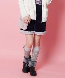 KUMIKYOKU KIDS/【150-160cm】ボア付きコーデュロイ パンツ/502614440