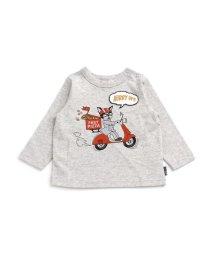 BREEZE/3色3柄ワッペン付きTシャツ/502379716