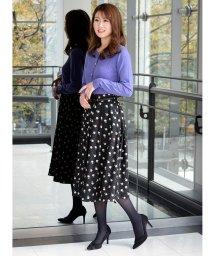 Eimy Peal by POWDER SUGAR/ベルト付きドット×花柄スカート/502593782