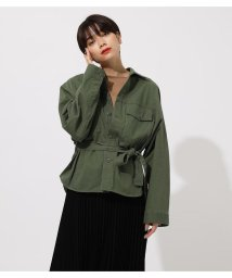 AZUL by moussy/POCKET BELT SHIRT OUTER/502614825