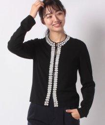 MADAM JOCONDE/【アンサンブル対応】NADIA ビーズ刺繍トリミング カーディガン/502597469