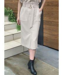 TONAL/【セットアップ対応商品】ダブルクロスアウトポケットタイトスカート/502597491