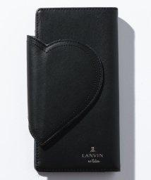 LANVIN en Bleu/ジェーン ハートモチーフデザインスマホケース 482801/502501931