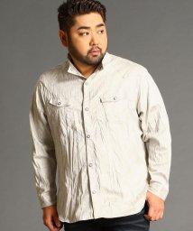 HIDEAWAYS NICOLE L/<大きいサイズ>ミリタリーシャツ/502577974
