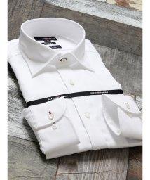 TAKA-Q/形態安定80双スリムフィットワイドカラー長袖シャツ/502613200