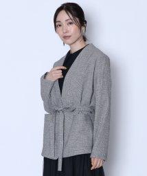 LASUD/[Aga]リネンウールジャケット/502613382