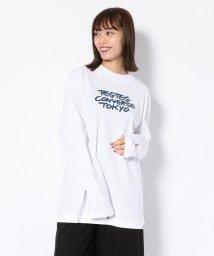 RoyalFlash/CONVERSE TOKYO×TEG TEG/コンバーストウキョウ×テグテグ/ロングスリーブTシャツ/502615682