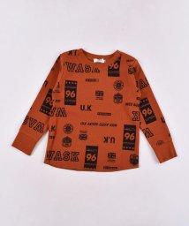 WASK/ロゴ柄ワッフルTシャツ(110cm~130cm)/502615734