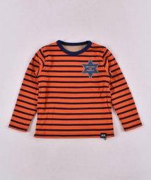WASK/ボーダー&無地リバーシブル天竺Tシャツ(110cm~130cm)/502615736