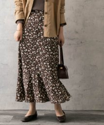 URBAN RESEARCH ROSSO/autumn flower print skirt/502616434