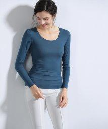 ALWAYS/シームレスインナー[AIR COOL] U型Tシャツ 長袖/502616698