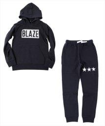 GLAZOS/裏毛・ボックスロゴセットアップ/502617301