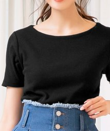 KOBE LETTUCE/前身二重半袖Tシャツ(Bネック)/502546147