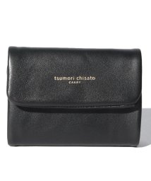 tsumori chisato CARRY/フレンチラム 三つ折り財布/502586190