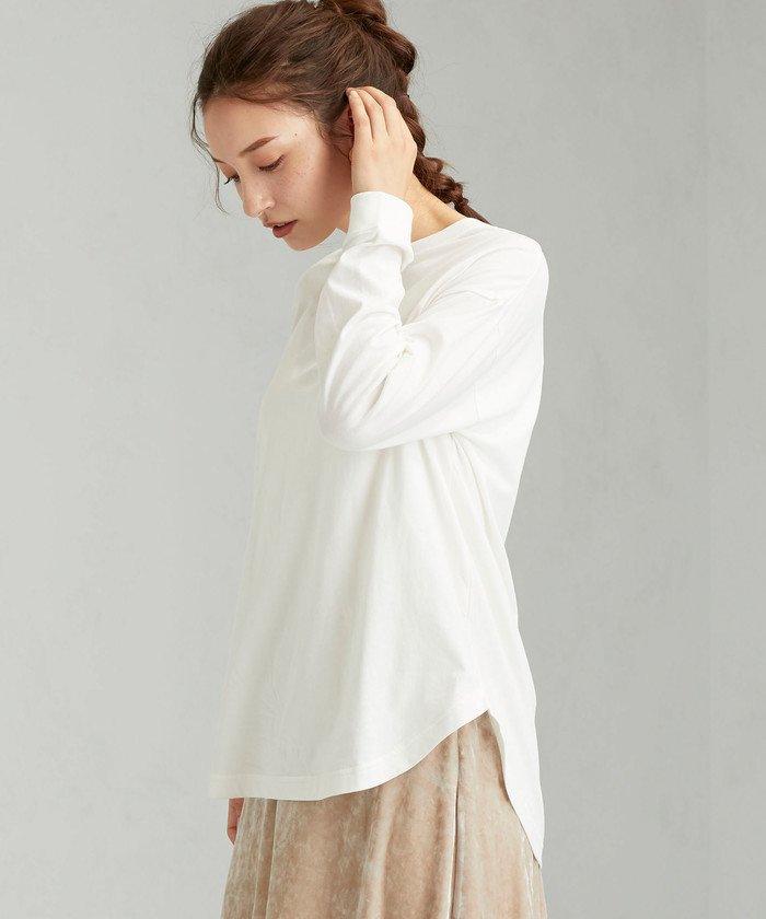 SC クルー ネック 9分袖 Tシャツ