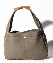 SELECT/〈MAKE UP/メイクアップ〉Earth Color Bag/アースカラー帆布 ショルダーバッグ S/502596911