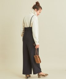 BEAUTY&YOUTH UNITED ARROWS/BY∴ ダブルクロスバックリボンサロペット -ウォッシャブル-/502611345