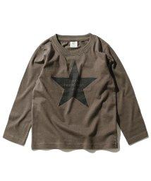 devirock/デビラボ ロゴプリント長袖Tシャツ/502617688