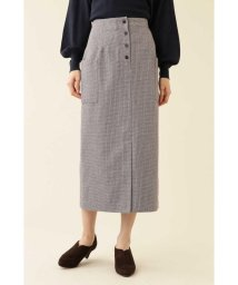 NATURAL BEAUTY BASIC/メランジガンクラブスカート/502618272