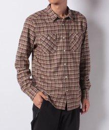 Alpine DESIGN/アルパインデザイン/メンズ/サーモライト長袖チェックシャツ/502621885