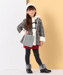 KUMIKYOKU KIDS/【ひなちゃん着用/110-140cm】チェック ダッフルコート/502621999