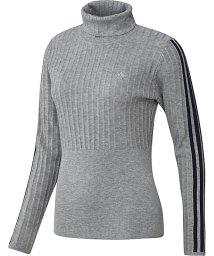 adidas/アディダス/レディス/リブパターン タートルネック長袖セーター/502622112