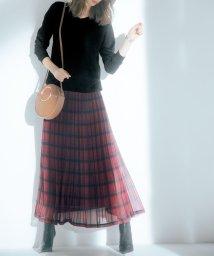 Ranan/シフォンプリーツマキシスカート/502585989