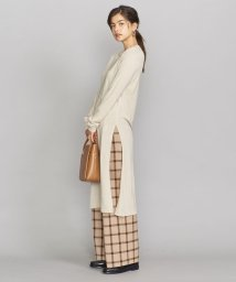 BEAUTY&YOUTH UNITED ARROWS/BY 16ゲージ ウールレーヨンサイドスリットワンピース/502604045
