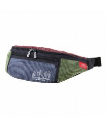 Manhattan Portage/Brisbane Moss Fabric Alleycat Waist Bag/502612590