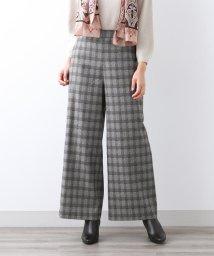 AMACA/先染めジャガード パンツ/502613744