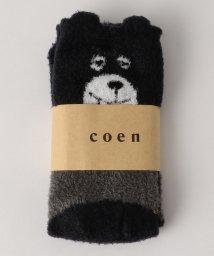 coen/【ムック本掲載】コーエンベアシャギールームソックス/502615493