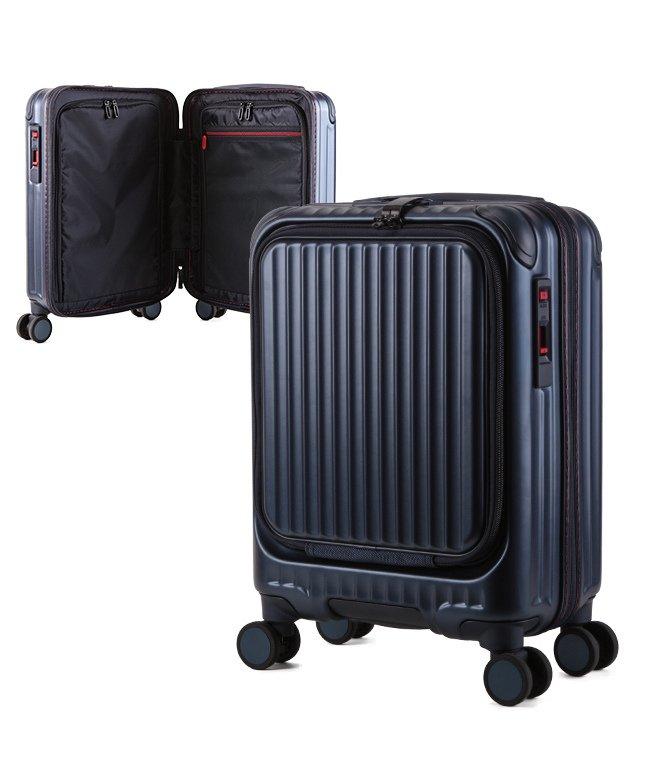 カバンのセレクション カーゴ エアレイヤー スーツケース 機内持ち込み フロントオープン SSサイズ/22L ストッパー機能 CARGO AiR LAYER cat235ly ユニセックス ブルー フリー 【Bag & Luggage SELECTION】