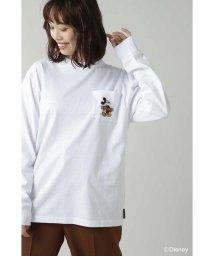 ROSE BUD/ディズニーキャラクターロングTシャツ/502618375