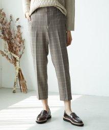 ROPE' PICNIC/【らくぽか】中空糸テーパードパンツ/502623429