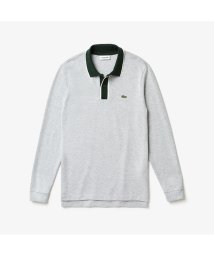 LACOSTE Mens/ボーダー前立てロングスリーブポロ/502623805