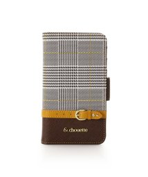 & chouette/グレンチェックiPhone XSケース/502625084