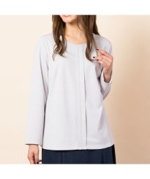 PISANO/配色ステッチデザインブラウス風Tシャツ/502625436