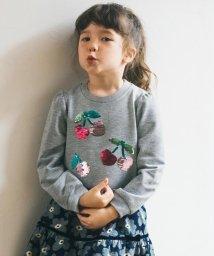 anyFAM(KIDS)/【140-150cm】ミラクルスパンコール 裏毛 トレーナー/502626165